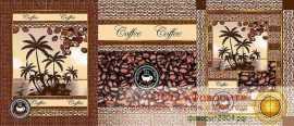 Набор из 3 кухонных полотенец «Аромат кофе»