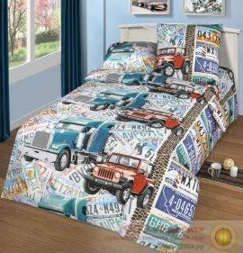 Детское постельное белье «Автобан»