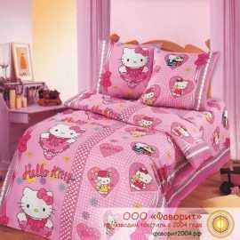 Детское постельное белье «Бантики»