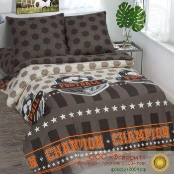 Детское постельное белье «Чемпион»