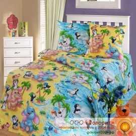 Детское постельное белье «Чудо остров»