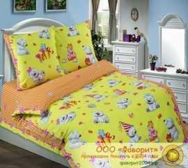 Детское постельное белье «День рождения»