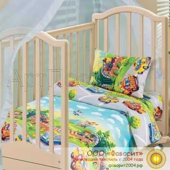 Детское постельное белье в кроватку «Детский парк»
