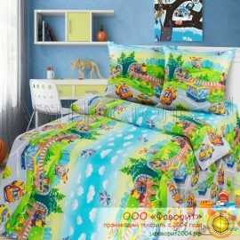 Детское постельное белье «Детский парк»