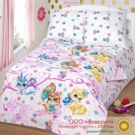 Детское постельное белье «Хвостики»