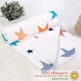 Покрывало-одеяло детское трикотажное «Искорка»