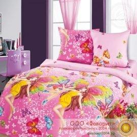 Детское постельное белье «Красотки»