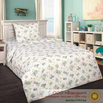 Детское постельное белье в кроватку «Кроха»