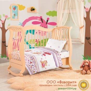 Детское постельное белье в кроватку «Малыш»