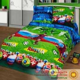 Детское постельное белье «Матч»