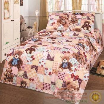 Детское постельное белье «Мой медвеженок»