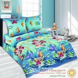Детское постельное белье «Морская сказка»