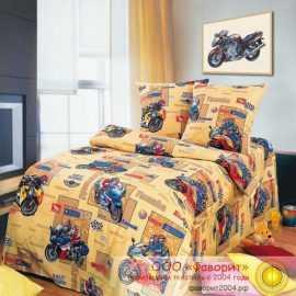 Детское постельное белье «Мотоспорт»