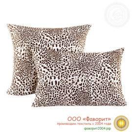 Наволочка «Леопард» из трикотажа