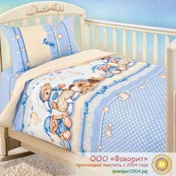 Детское постельное белье в кроватку «Нежный сон»
