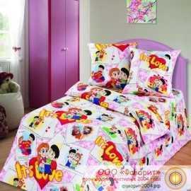 Детское постельное белье «Очаровашки»