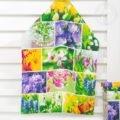 Первоцветы набор из 3 кухонных полотенец вид 2