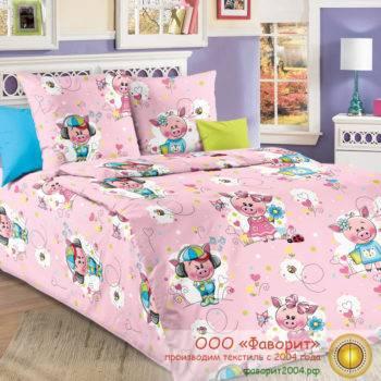 Детское постельное белье «Пигги»