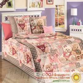 Детское постельное белье «Плюшевые мишки »