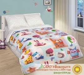 Детское постельное белье «Плюшевый мир»