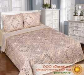 Покрывало-одеяло стеганое «Италия» поплин с синтепоном
