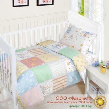 Детское постельное белье в кроватку «Растишка»