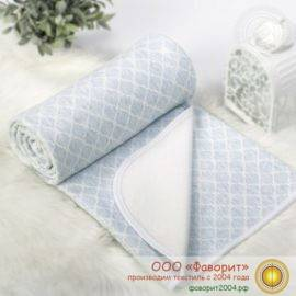 Покрывало-одеяло детское трикотажное «Ромбы»