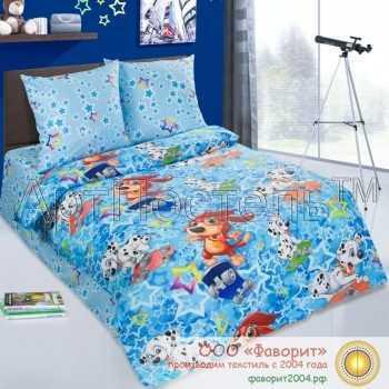 Детское постельное белье «Скейтборд»