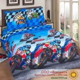 Детское постельное белье «Скорость»