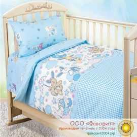 Детское постельное белье в кроватку «Соня»