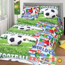 Детское постельное белье «Спорт»