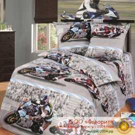 Детское постельное белье «Супербайк»