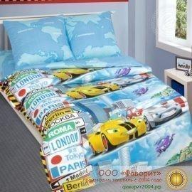 Детское постельное белье «Суперкар»