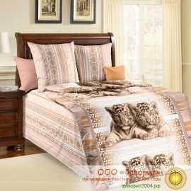 Детское постельное белье «Тигрята»
