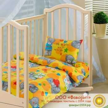 Детское постельное белье в кроватку «Топтыжка»