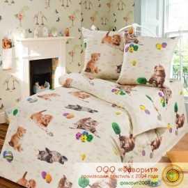 Детское постельное белье «Усатый — полосатый»
