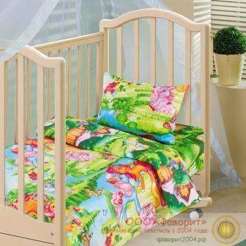 Детское постельное белье в кроватку «Волшебные сны»