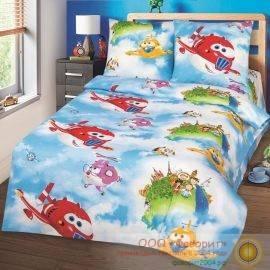 Детское постельное белье «Воздушный патруль»