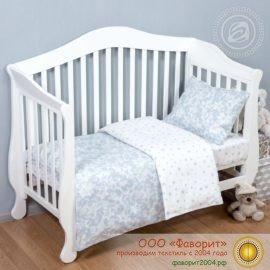 Детское постельное белье в кроватку «Звездочет»