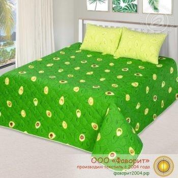 Покрывало-одеяло стеганое «Амиго» поплин с синтепоном
