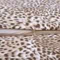 фрагмент пододеяльник трикотажный Леопард