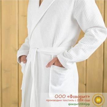 Вафельные халаты для гостиниц