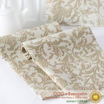Набор из 4 тканевых салфеток из рогожки «Богема»