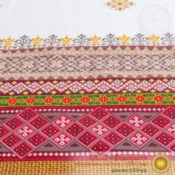 Набор из 4 тканевых салфеток из рогожки «Трель»