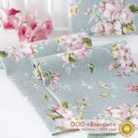 Набор из 4 тканевых салфеток из рогожки «Живопись»