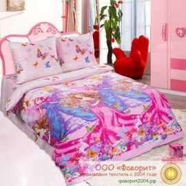 Детское постельное белье «Мечта-красавицы»