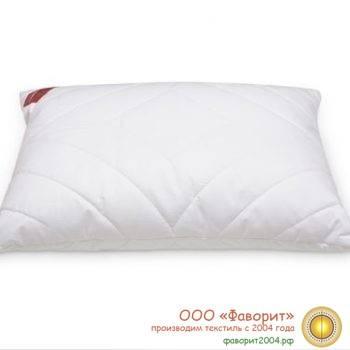 Подушка «Лебяжий пух» для гостиниц микрофибра 2-х камерная