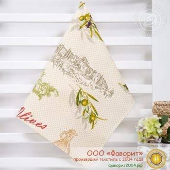 Полотенце из рогожки «Оливия»