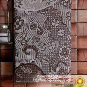 Полотенце из рогожки «Пастель»