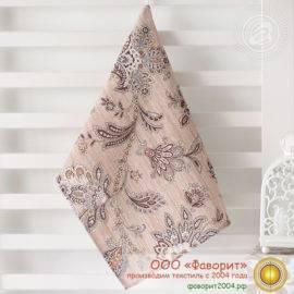 Полотенце из рогожки «Жардин»